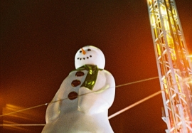 Funfair Ride, Cardiff Winter Wonderland, Christmas 2012