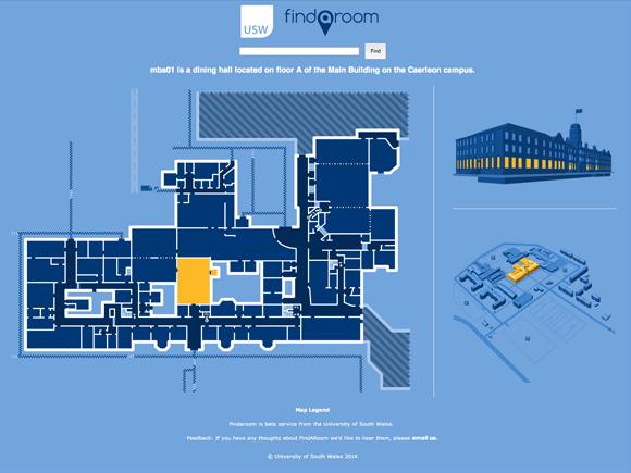 FindARoom: Main Building, Caerleon