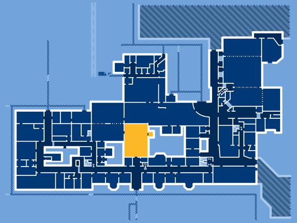 FindARoom: detail – floor – Main Building, Caerleon