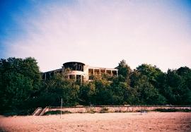 Derelict 1970\'s Hotel on Jurmala Beach, Latvia