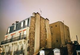 Rooftop: La Rue de la Grande Chaumiere, Paris