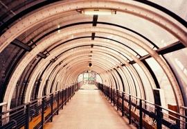 Tunnel, Centre Pompidou, Paris