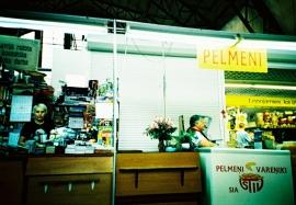 Pelmeni Seller, Riga Central Market