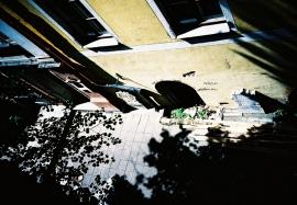 A Courtyard in Riga