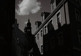 Light and shade on a RIga street